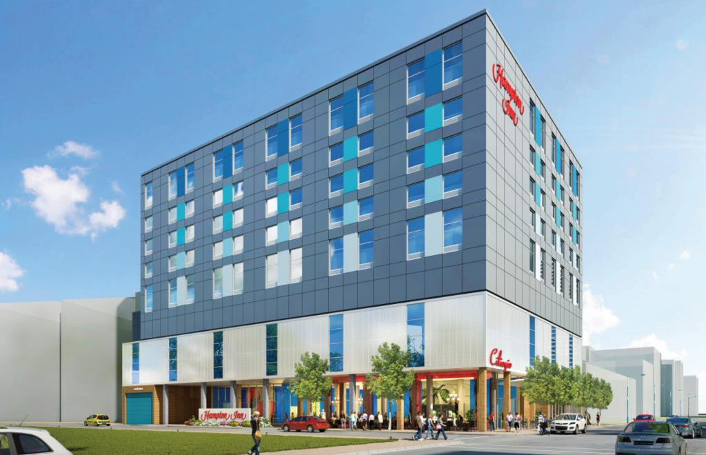 New Design, Specs for Hampton Inn in Park West