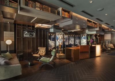 Hotel EMC2 Interior
